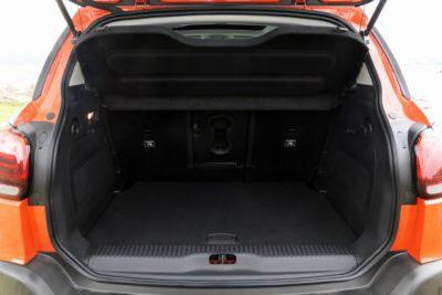 Citroën C3 Aircross - coffre