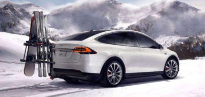 Tesla Model X - les meilleures voitures 7 places