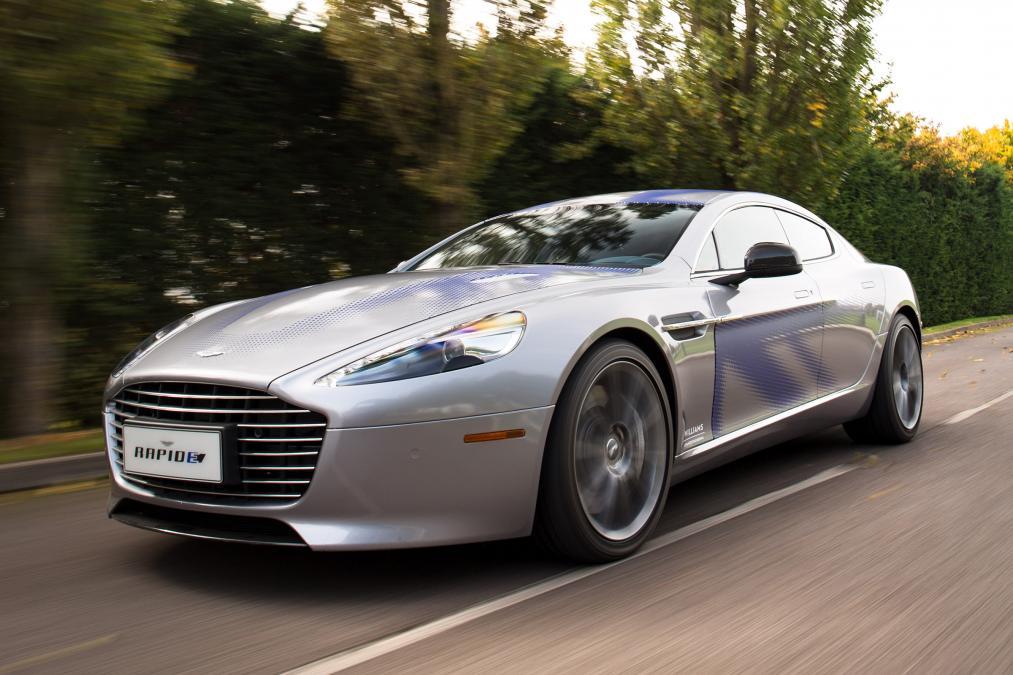 Concept RapidE d'Aston Martin - recto