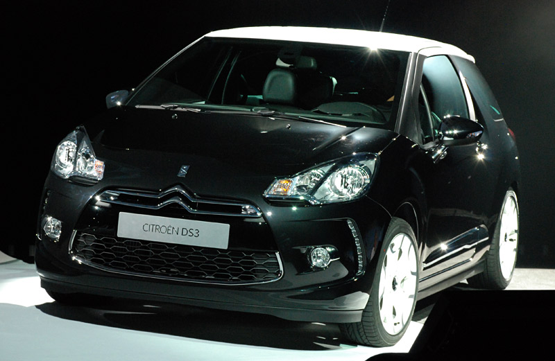 les premieres images de la citroen ds3 blog auto carid al. Black Bedroom Furniture Sets. Home Design Ideas