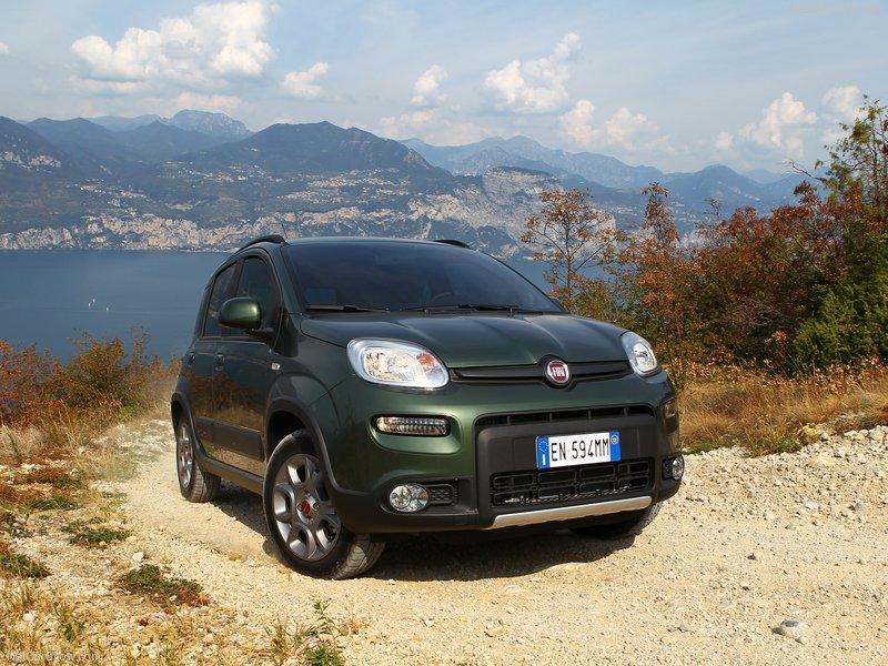 Nouvelle Fiat Panda 4x4 2013