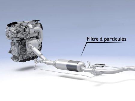 Filtre à particules pour moteur essence